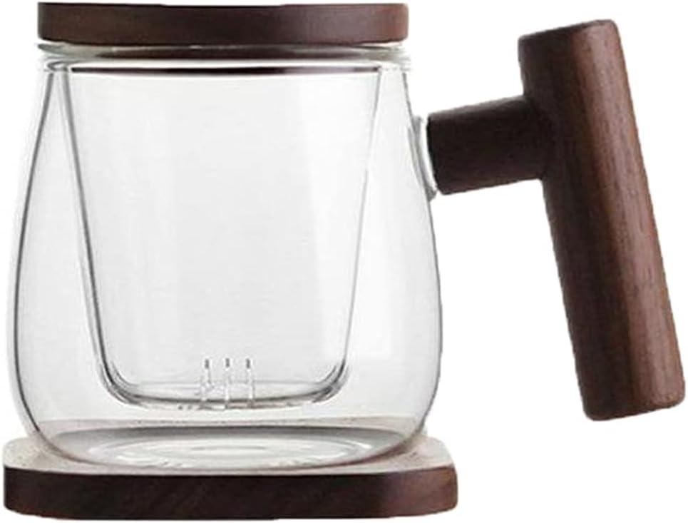 PAYNAN 300ML Creative Tea Infuser C Filter Many popular brands Mug store Glass Transparent