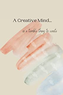 A Creative Mind Journal: 200 pages