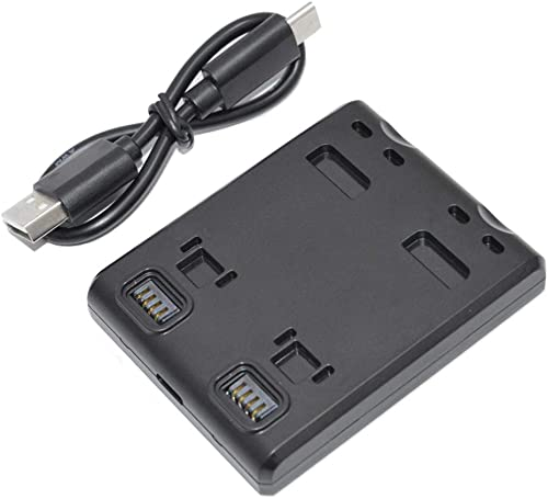 high quality MEKNIC Dual Battery Charger Hub for Insta360 One outlet sale R Battery and lowest Boosted Battery Base Support Fast Charging (Battery Charger for One R) outlet online sale