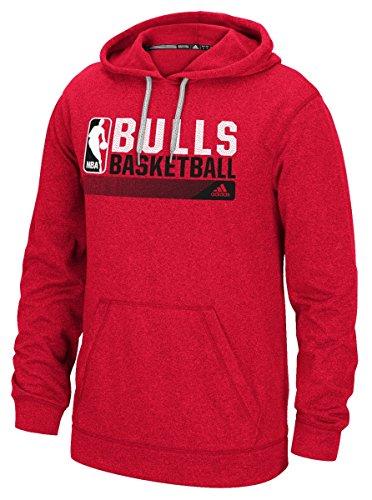 "Chicago Bulls Adidas NBA ""Icon Status"" - Sudadera con capucha para hombre (talla grande)"