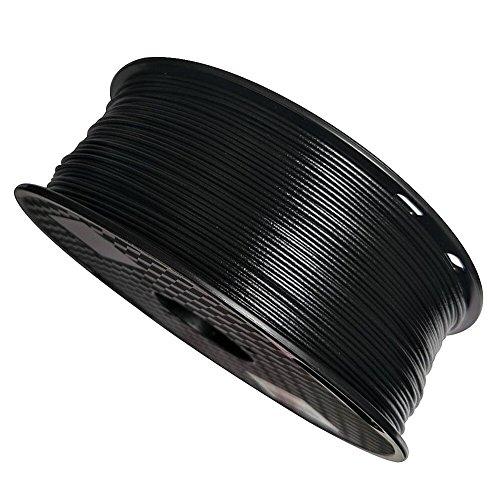 Uniqstore imprimante 3D Filament PP 1,75 mm, noir, 1 kg pour, polypropylène (PP) avec faible densité, polypropylène renforcé de fibre de verre