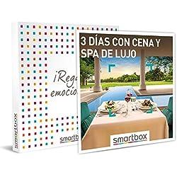 Smartbox - Caja Regalo - 3 días con Cena y SPA Idea de Regalo - 2 Noches con Cena y SPA para 2 Personas
