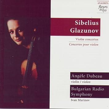 Sibelius, Glazunov: Violin Concertos
