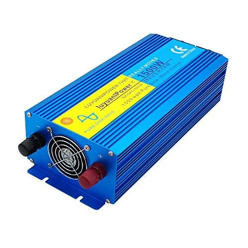 3000w power converter inverter DC 12v to AC 230v car boat camping travel 1500w