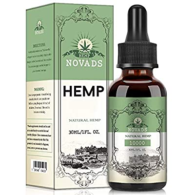 Hemp Pure Oil, High Strength 100% Natural Ingredients 30ML (10000MG)