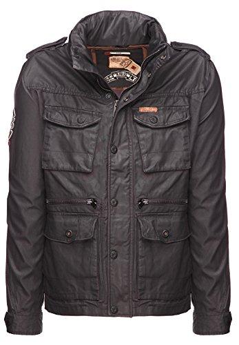 khujo Herren Stay Jacke, Grau (Grey 210), Small (Herstellergröße: S)