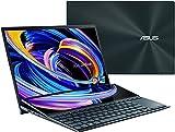 CUK ASUS ZenBook Pro Duo 15 Creator Laptop with Screenpad Plus (Intel i9-10980HK, 32GB RAM, 1TB NVMe SSD, NVIDIA GeForce RTX 3070, 15.6' 4K UHD Glossy, Windows 10 Pro) Business Notebook