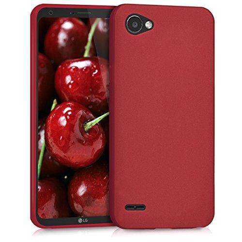 kwmobile LG Q6 / Q6+ Hülle - Handyhülle für LG Q6 / Q6+ - Handy Case in Rot matt