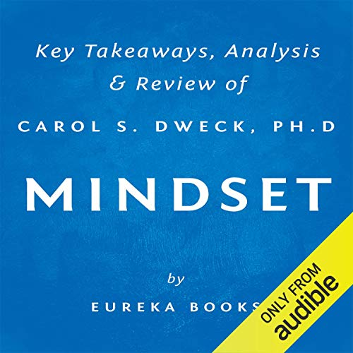 Mindset: The New Psychology of Success by Carol S. Dweck, PhD audiobook cover art