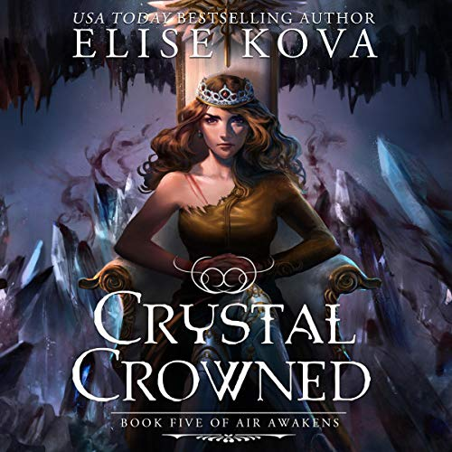 Crystal Crowned audiobook cover art