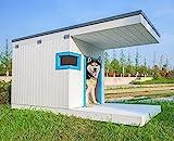 Laifug Large Dog House,Weather Proof Outdoor Dog Kennel,Wood Dog House...
