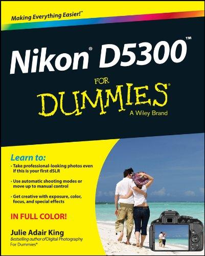 Nikon D5300 For Dummies (English Edition)