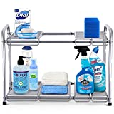 Simple Trending 2-Tier Under Sink Expandable Cabinet Shelf...
