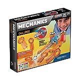 Geomag- Mechanics Construcciones magnéticas y juegos educativos, Multicolor, 95 Piezas (771) , color/modelo surtido
