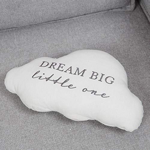 Bambino Linen Cloud Shaped Mini Cushion Dream Big