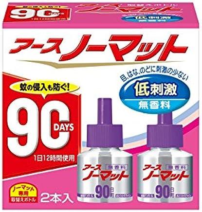 アースノーマット 90日用 無香料 [4.5-12畳用 取替ボトル2本入]