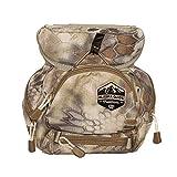 Alaska Guide Creations Kodiak C.U.B. with M.A.X. Pocket   Binocular Harness Chest Pack for Hiking and Hunting   Compact Utility Bag (Kryptek Highlander)