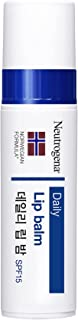 Neutrogena Norwegian Formula Lip Moisturizer For Dry Lip With SPF 15, White, 4 g, 0.15 Ounce (Neu-9578)