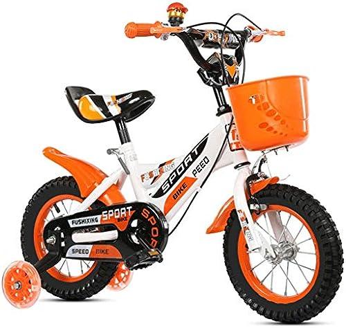 LI HAO SHOP Kinderfürr r, Babyfürr r, Kinder-Mountainbikes, Mountainbikes, Kindergeschenke, Babygeschenke (Farbe   Orange, Größe    1-18 in)