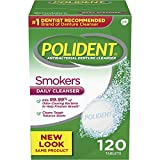 Polident Smokers Antibacterial Denture Cleanser