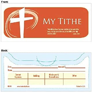 Offering Envelope My Tithe