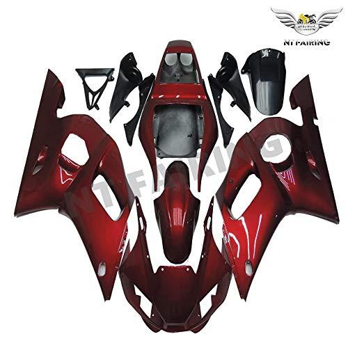 NT FAIRING Red Fairing Fit for YAMAHA 1998-2002 YZF R6 New Injection Mold ABS Plastics Bodywork Body Kit Bodyframe Body Work 1999 2000 2001