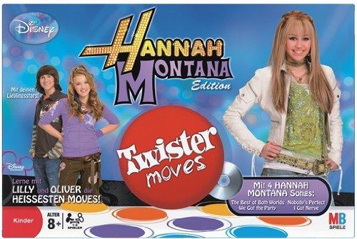 Hasbro 46808100 - MB Twister Moves Hannah Montana inkl. 2 CDs