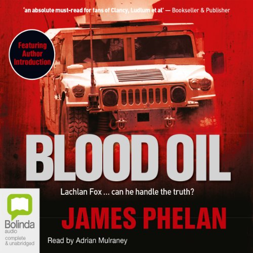 Blood Oil  audiobook cover art