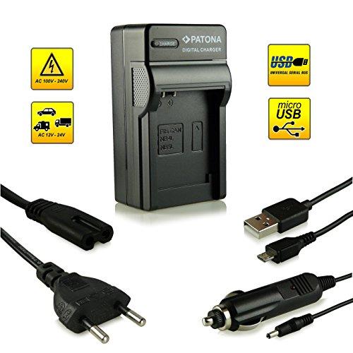 3in1 Ladegerät · 100{0c75f515730be760dee4973cbcf1e6490a21f0a923b4ef328b12d712ef1f2296} kompatibel mit NB-4L Akkus für Canon Digital Ixus 30 | 40 | 50 | 55 | 60 | 65 | 70 | 75 | 80 IS | 82 IS | 100 IS | 110 IS | 115 HS | 120 IS | 130 IS | 220 HS | 230 HS | 255 HS | i zoom | i7 | Wireless - PowerShot SD40 | SD600 | SD750 | SD1000 | SD1100 IS | TX1 und weitere…