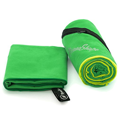 NirvanaShape ® Mikrofaser Handtücher   saugfähig, leicht, schnelltrocknend   Badehandtücher, Reisehandtücher, Sporthandtücher   Ideal für Reisen, Fitness, Yoga, Sauna