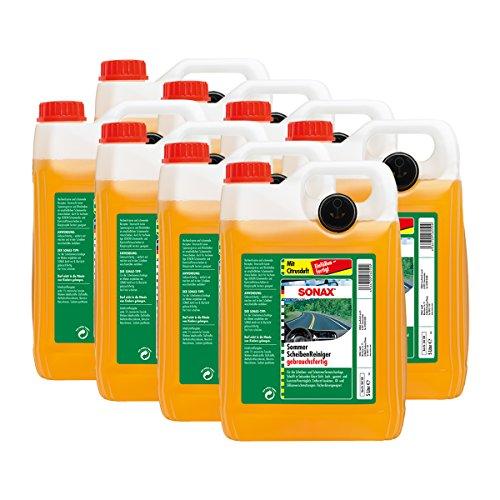 SONAX 8X 02605000 ScheibenReiniger gebrauchsfertig Citrus Konzentrat 5L