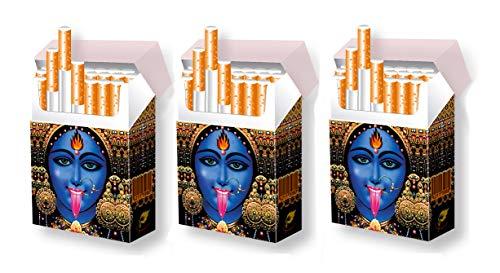 3 STÜCK indo slipp Hüllen für XL-Zigarettenpackungen | Größe: Bigpack Normal-Size | Motiv: 001 Kali