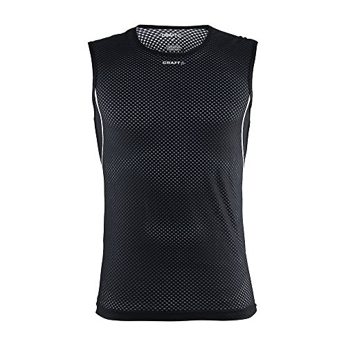 Craft Cool Mesh Camiseta Interior para Hombre, Hombre, Black, L