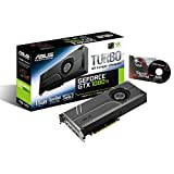 ASUS GeForce GTX 1080 TI 11GB Turbo Edition VR Ready 5K HD Gaming HDMI DisplayPort PC GDDR5X Graphics Card TURBO-GTX1080TI-11G