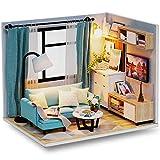 (t-FREAK )ドールハウス 手作りキットセットミニチュア Corner of Livingroom