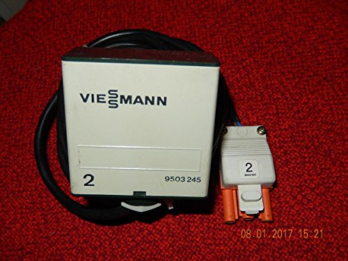 VIESSMANN 9503 245 Außenfühler / Außensensor NR. 2 mit langem Kabel und Stecker Nr.2, NEU, war ERSATZTEIL
