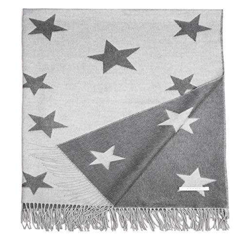 ESPRIT - Star/Shift/Daria - Plaid Decke Tagesdecke Kuscheldecke Wolldecke Couchdecke Sofadecke - Größe 140 x 200 cm / 150 x 200 cm - Farbe schwarz/Sand/Rose/beige/gelb