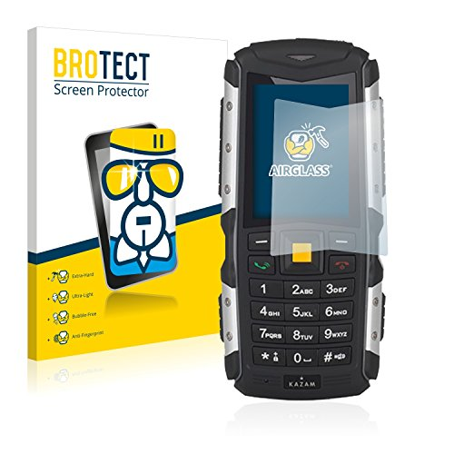 BROTECT Panzerglas Schutzfolie kompatibel mit Kazam Life R5 - AirGlass, 9H Festigkeit, Anti-Fingerprint, HD-Clear