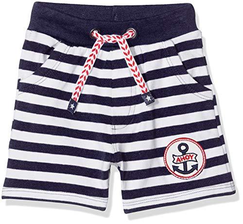 Salt & Pepper Baby-Jungen 03216105 Shorts, Blau (Navy 498), (Herstellergröße: 92)