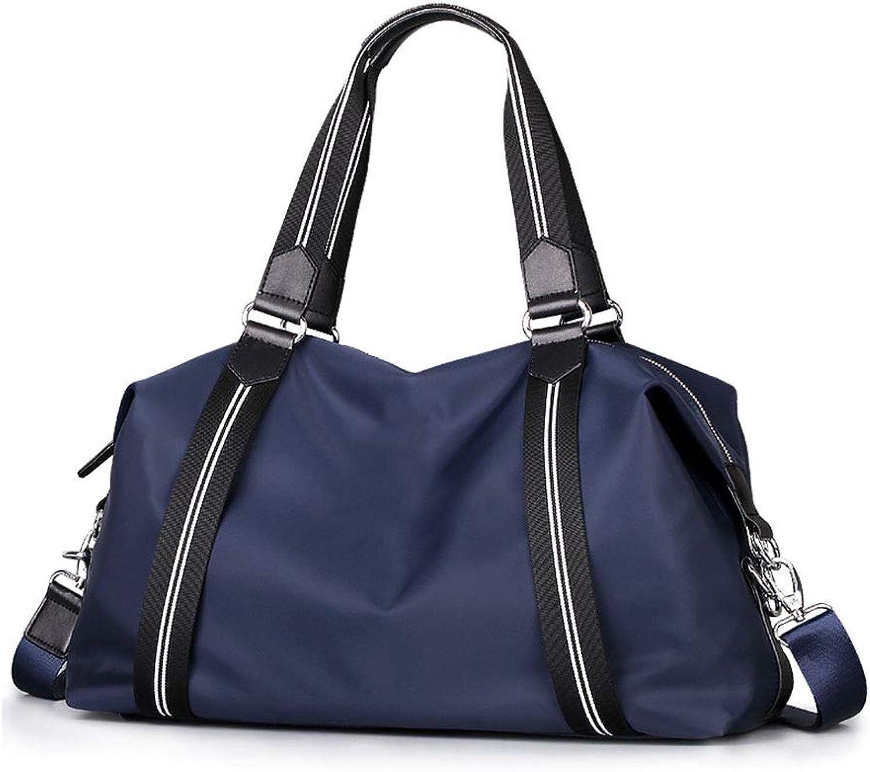 Fitness Yoga Tasche Multifunktions GroE KapazitT UmhNgetasche Tote Lagerung Reisetasche (Blau)