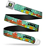 Buckle-Down Seatbelt Belt - Scooby Doo Group in THE MYSTERY MACHINE - 1.5' Wide - 24-38 Inches in Length