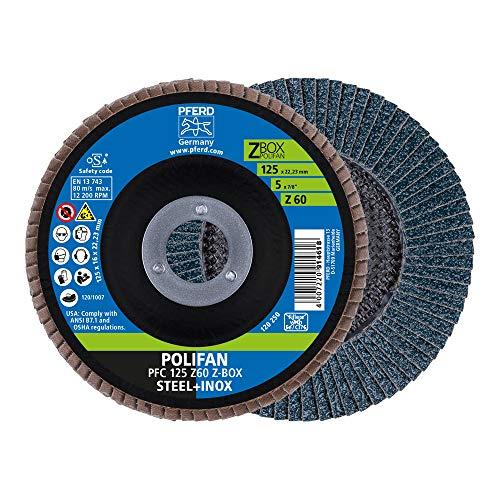 PFERD 69300935 POLIFAN-Z-BOX-10 x Disco, Z60, perforación, 69300935-para una Alta Potencia de...
