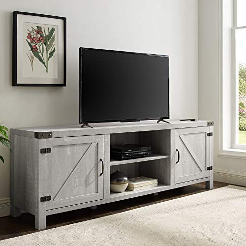 Stone Grey Furniture TV Stand