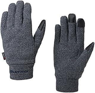 カリマー(カリマー) トレイル グローブ +d trail glove +d 82709A161-N.Heather 保温 タッチパネル対応