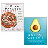 THE PLANT PARADOX COOKBOOK [Hardcover], Eat Fat Get Thin 2 Books Collection Set