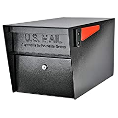 USPS Approved full-service residential locking security mailbox prevents mail-identity theft; Stainless steel hinges for ease of use QUALITY: 14- and 16-gauge galvanized welded steel construction defends against vandalism SECURITY: Innovative baffle ...