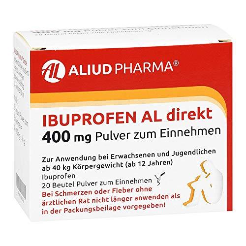 Ibuprofen AL direkt 400 mg Pulver zum Einnehmen, 20 St