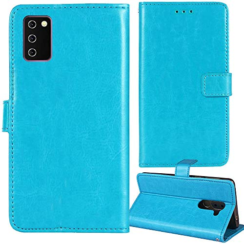 """Lankashi Premium Retro Business Flip Book Stand Brieftasche Leder Tasche Schütz Hülle Handy Telefon Case Für XGODY Note 10 7.2\"""" Abdeckung Wallet Cover Etui Holder (Blau)"""