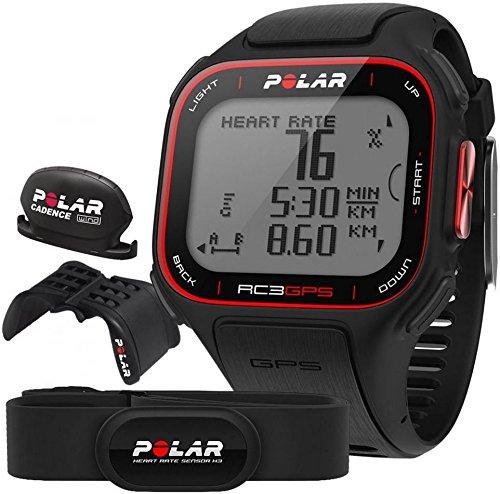 POLAR GPS-Pulsmesser RC3 Bike, schwarz, 90046244