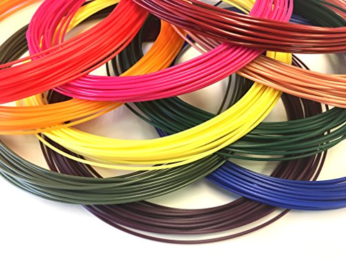 Paramount 3D PLA 1.75mm 50 ft Top Ten Sample Pack (10 Colors) 500 ft in All